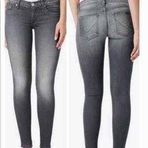 Hudson Krista Super Skinny Jeans in Reck Gray 30